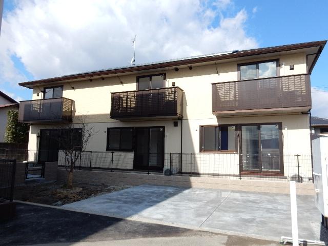 岡山県岡山市北区、北長瀬駅徒歩15分の新築 2階建の賃貸アパート