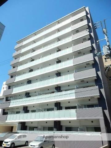 岡山県岡山市北区、岡山駅徒歩12分の新築 9階建の賃貸マンション