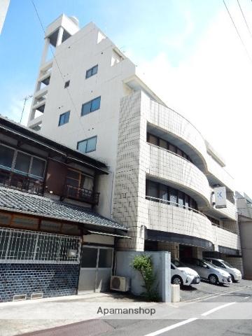 岡山県岡山市北区、柳川駅徒歩9分の築32年 6階建の賃貸マンション
