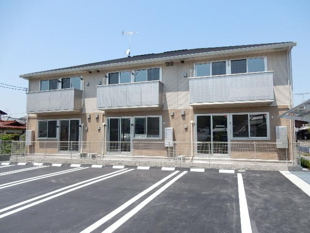 岡山県岡山市南区、彦崎駅徒歩8分の新築 2階建の賃貸アパート
