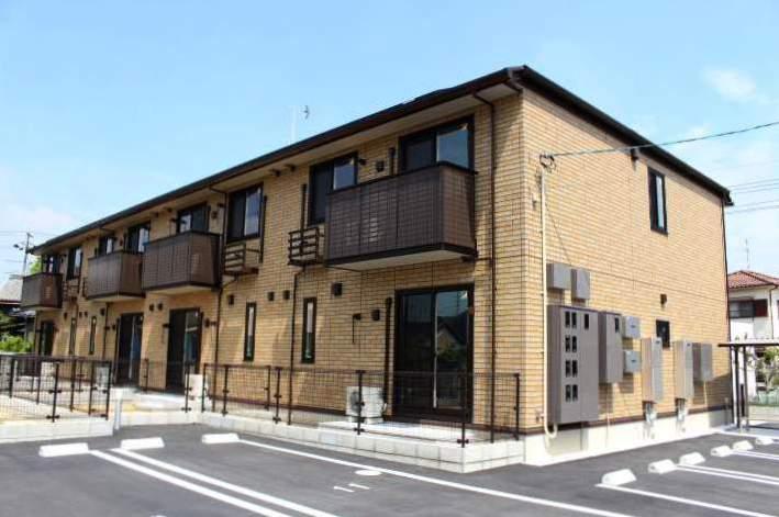 岡山県岡山市南区、八浜駅徒歩95分の新築 2階建の賃貸アパート