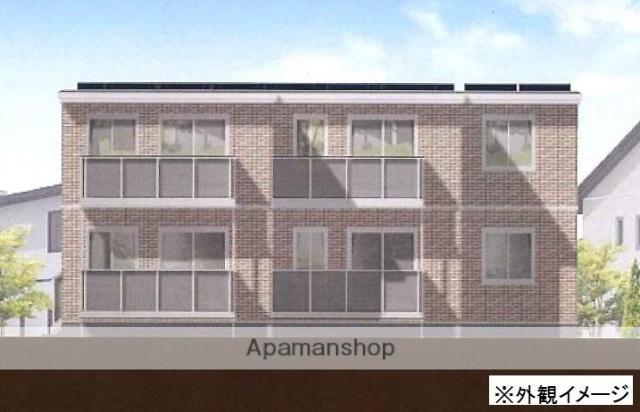 岡山県岡山市南区、備前片岡駅徒歩9分の新築 2階建の賃貸アパート