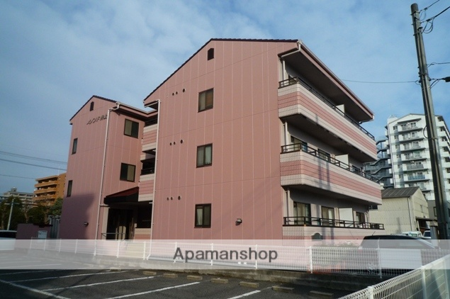 岡山県岡山市北区、大元駅徒歩15分の築28年 3階建の賃貸マンション