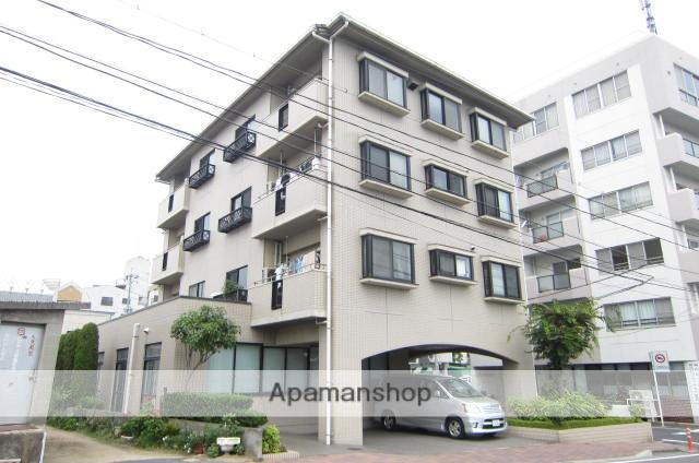 岡山県岡山市北区、城下駅徒歩5分の築26年 4階建の賃貸アパート