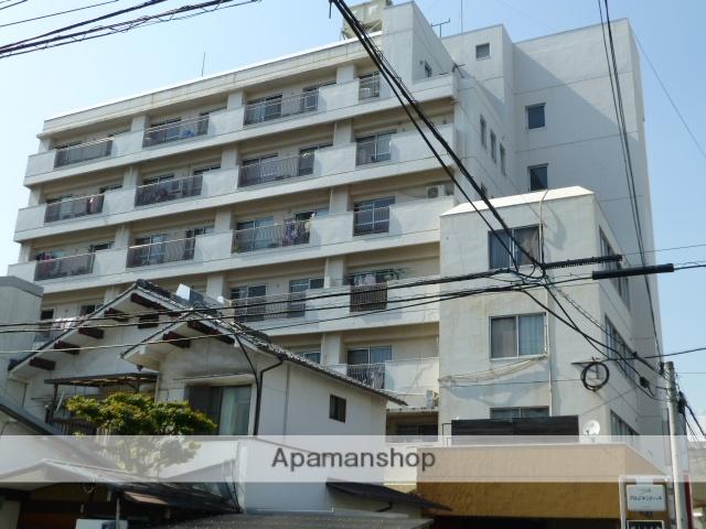 岡山県岡山市北区、田町駅徒歩9分の築40年 7階建の賃貸マンション