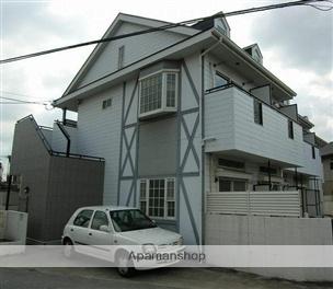 岡山県岡山市中区、高島駅徒歩23分の築25年 2階建の賃貸アパート