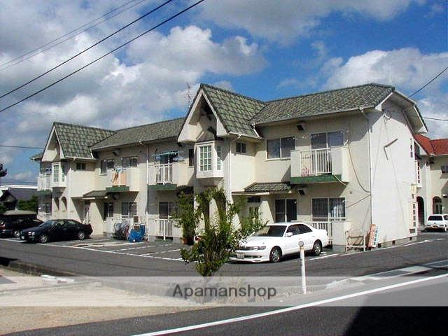 岡山県岡山市北区、庭瀬駅徒歩19分の築28年 2階建の賃貸アパート