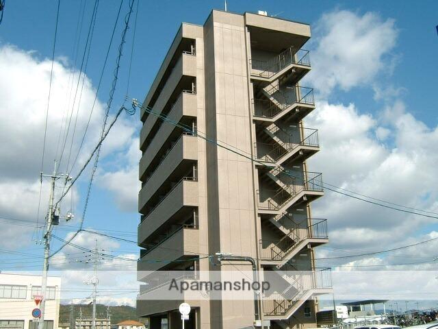岡山県岡山市北区、北長瀬駅徒歩3分の築10年 7階建の賃貸マンション