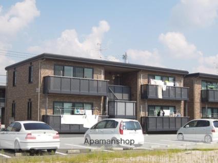 岡山県岡山市北区、足守駅徒歩12分の築11年 2階建の賃貸アパート