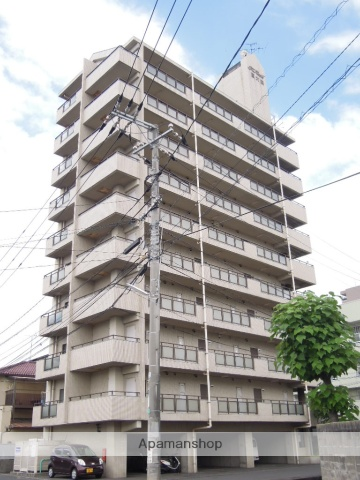 岡山県岡山市北区、大元駅徒歩13分の築26年 10階建の賃貸マンション
