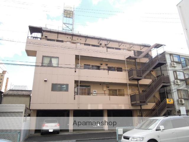 岡山県岡山市北区、岡山駅徒歩15分の築32年 4階建の賃貸マンション