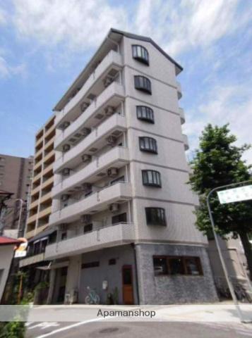 岡山県岡山市北区、柳川駅徒歩10分の築24年 7階建の賃貸マンション