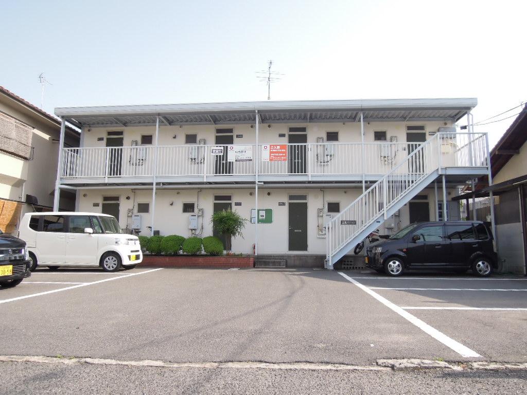 岡山県岡山市中区、小橋駅徒歩8分の築31年 2階建の賃貸アパート