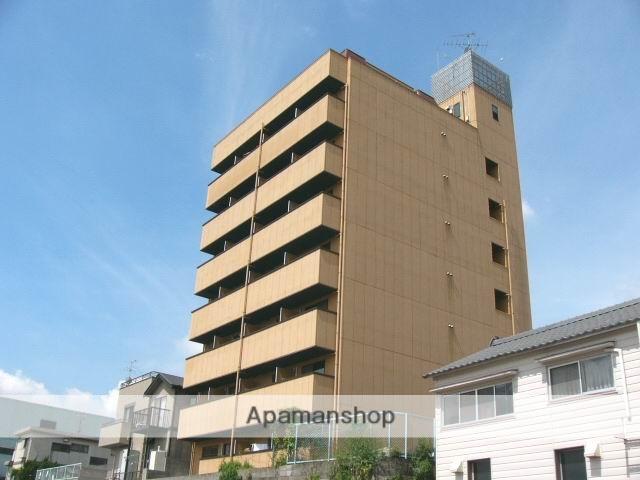 岡山県岡山市北区、西大寺町駅徒歩10分の築20年 7階建の賃貸マンション