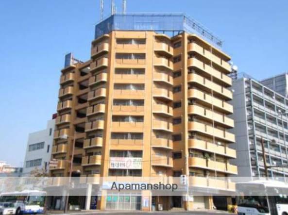 岡山県岡山市北区、西大寺町駅徒歩3分の築28年 10階建の賃貸マンション