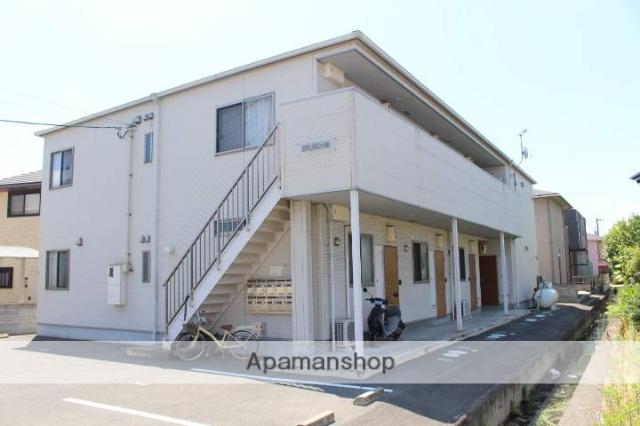 岡山県岡山市南区、岡山駅徒歩95分の築6年 2階建の賃貸アパート