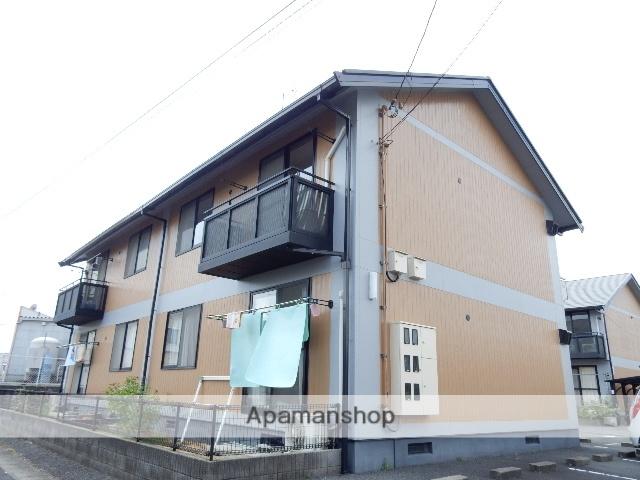 岡山県岡山市北区、備中高松駅徒歩16分の築20年 2階建の賃貸アパート