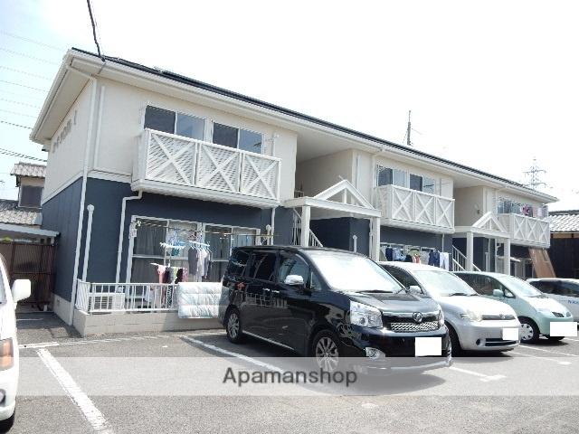 岡山県岡山市南区、備前西市駅徒歩47分の築26年 2階建の賃貸アパート