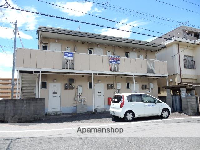 岡山県岡山市北区、岡山駅徒歩28分の築31年 2階建の賃貸アパート