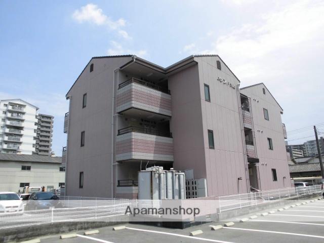 岡山県岡山市北区、大元駅徒歩15分の築29年 3階建の賃貸マンション