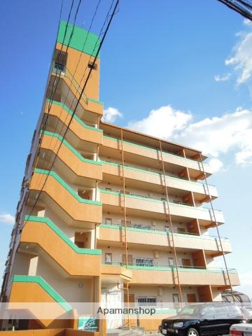 岡山県岡山市北区、岡山駅徒歩32分の築31年 6階建の賃貸マンション