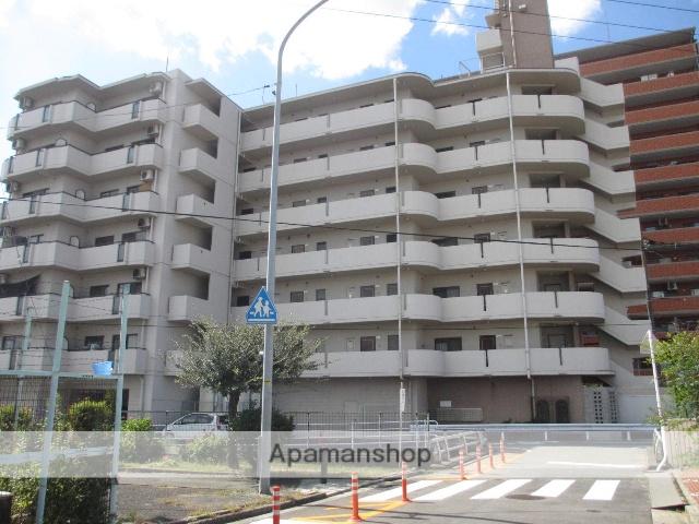 岡山県岡山市北区、岡山駅徒歩30分の築27年 7階建の賃貸マンション