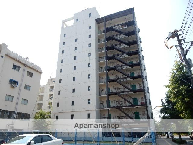 岡山県岡山市北区、岡山駅徒歩9分の築38年 9階建の賃貸マンション