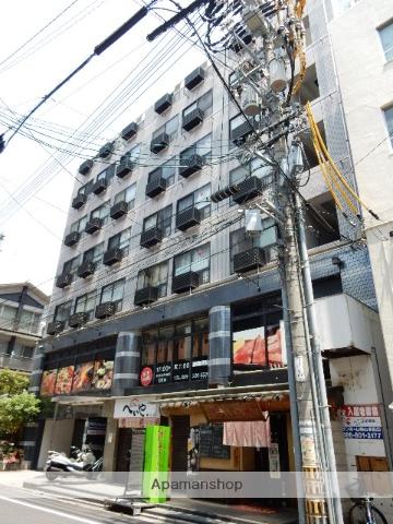 岡山県岡山市北区、柳川駅徒歩4分の築28年 9階建の賃貸マンション
