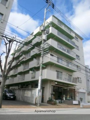 岡山県岡山市北区、西川緑道公園駅徒歩3分の築29年 7階建の賃貸マンション