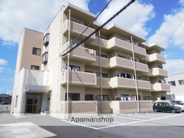 岡山県岡山市中区、西川原駅徒歩27分の築21年 4階建の賃貸マンション