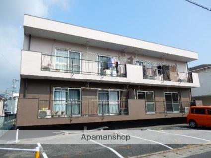 岡山県岡山市中区、高島駅徒歩16分の築33年 2階建の賃貸マンション