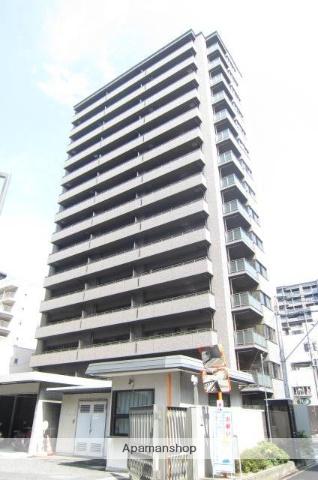 岡山県岡山市北区、郵便局前駅徒歩2分の築3年 15階建の賃貸マンション