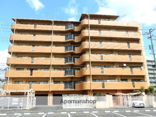 岡山県岡山市北区、岡山駅徒歩18分の築27年 7階建の賃貸マンション