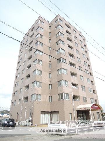 岡山県岡山市南区、妹尾駅徒歩1分の築22年 10階建の賃貸マンション