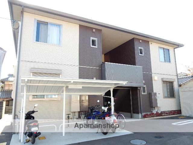 岡山県岡山市北区、法界院駅徒歩17分の築1年 2階建の賃貸アパート