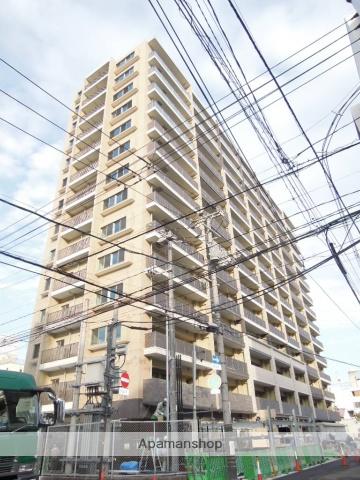 岡山県岡山市北区、城下駅徒歩8分の築2年 14階建の賃貸マンション