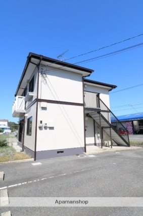 岡山県岡山市北区、備中高松駅徒歩25分の築22年 2階建の賃貸アパート