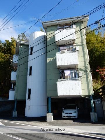 岡山県岡山市中区、中納言駅徒歩15分の築28年 4階建の賃貸マンション