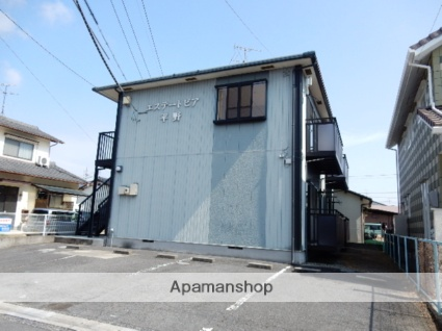岡山県岡山市北区、庭瀬駅徒歩5分の築21年 2階建の賃貸アパート