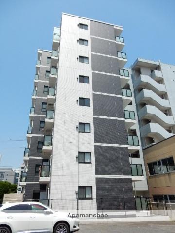 岡山県岡山市北区、大雲寺前駅徒歩10分の新築 8階建の賃貸マンション
