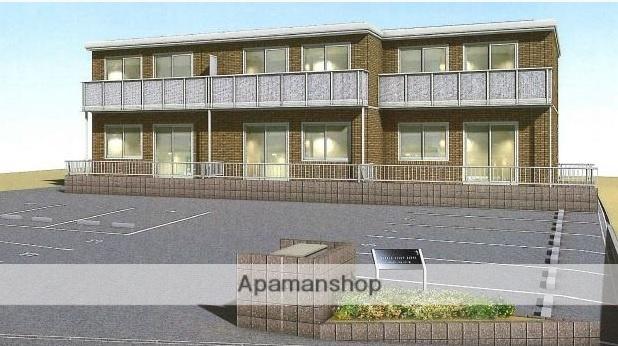 岡山県岡山市南区、備前片岡駅徒歩9分の築1年 2階建の賃貸アパート