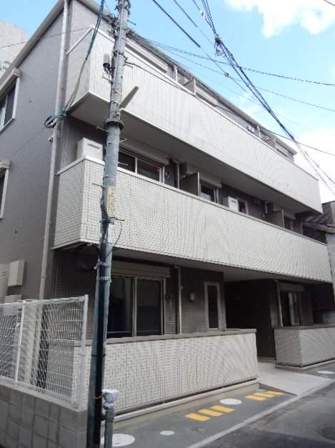 岡山県岡山市北区、岡山駅徒歩5分の新築 3階建の賃貸アパート