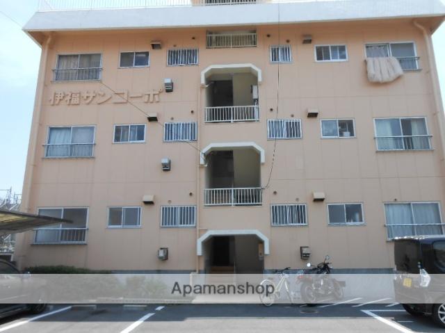 岡山県岡山市北区、岡山駅徒歩17分の築40年 3階建の賃貸アパート
