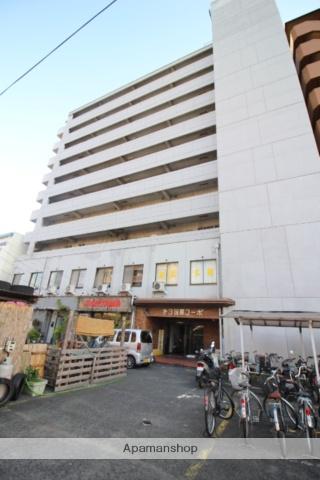 岡山県岡山市北区、大雲寺前駅徒歩16分の築38年 10階建の賃貸マンション