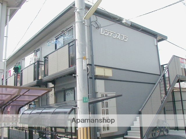 岡山県岡山市北区、岡山駅徒歩12分の築18年 2階建の賃貸アパート