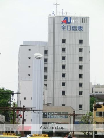 岡山県岡山市北区、柳川駅徒歩8分の築44年 9階建の賃貸マンション