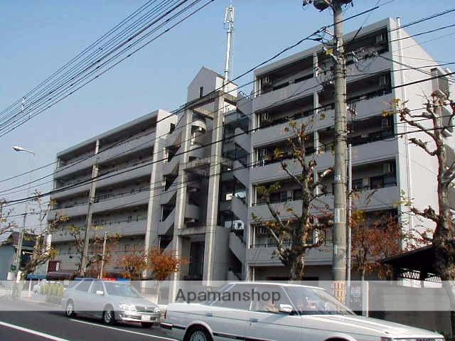 岡山県岡山市中区、小橋駅徒歩5分の築28年 6階建の賃貸マンション