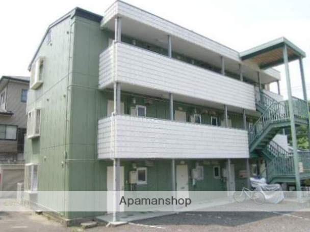 岡山県岡山市中区、中納言駅徒歩19分の築27年 3階建の賃貸マンション