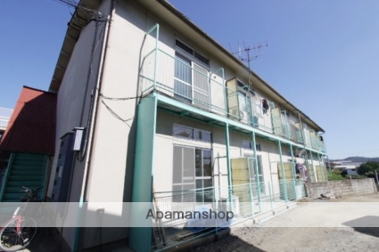 岡山県岡山市中区、岡山駅徒歩30分の築35年 2階建の賃貸アパート