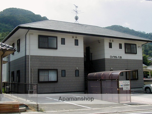 岡山県玉野市、八浜駅徒歩1分の築20年 2階建の賃貸アパート